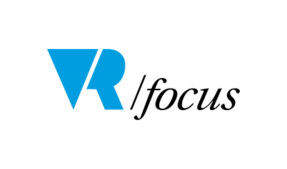 logo for Vr focus magazine