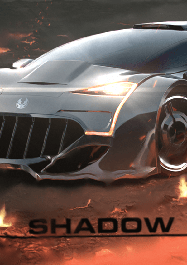 The Shadow villain car from Alpha Mods P.D.